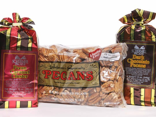 The Queen City Lion's Club sells a variety of pecans