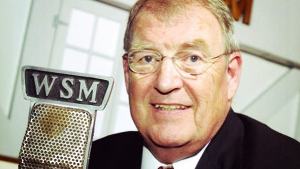 Hairl Hensley, Grand Ole Opry announcer, former WSM