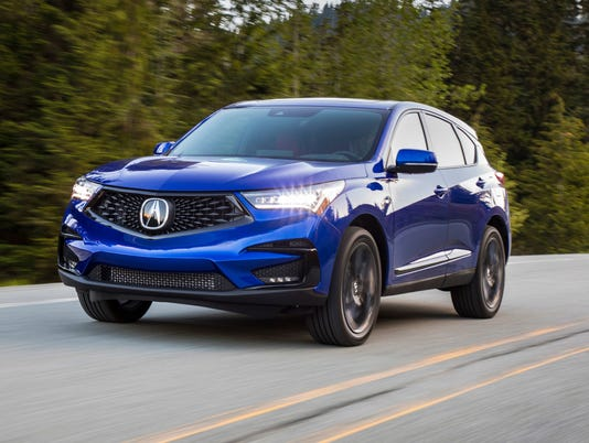 Acura Debuts An Updated Mdx Crossover
