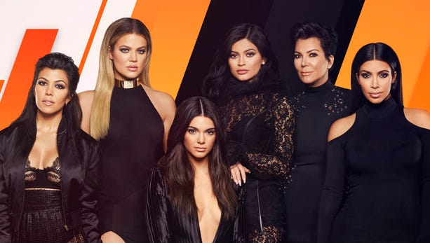 Kourtney, Khloé, Kendall, Kylie, Kris, Kim. Squad's all here.
