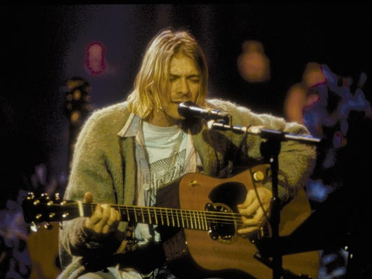 "Kurt Cobain and band Nirvana performed on ""MTV Unplugged"""
