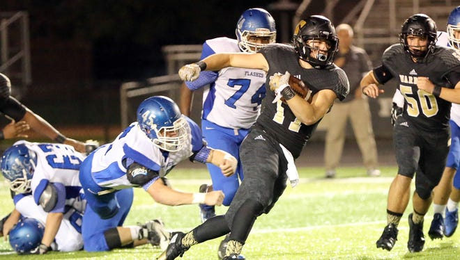Warren Central RB Tristen Tonte was a load to stop for Franklin Central on Friday night.