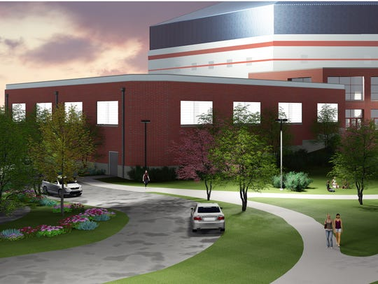 The Don Shondell Practice Center will be attached to