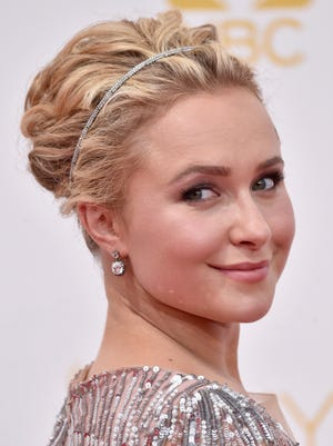 Actress Hayden Panettiere attends the 66th Annual Primetime Emmy Awards held at Nokia Theatre L.A. Live on August 25, 2014 in Los Angeles, California.  (Photo by Frazer Harrison/Getty Images)