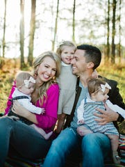 Josh and Aly Taylor adopted their daughter Genevieve,