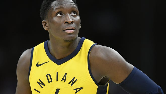 Indiana's Victor Oladipo finished with 12 points and 12 rebounds in a Game 5 loss. But he led the Pacers to victory over the Cavaliers in Game 6 with his triple double (28 points, 13 rebounds, 10 assists).