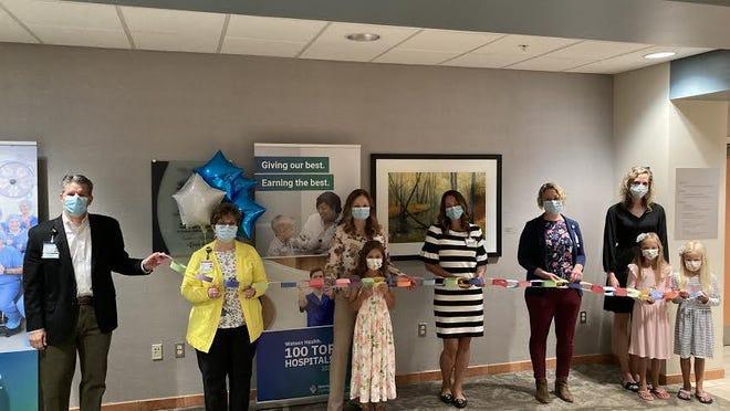 Spectrum Health Zeeland Community Hospital held a ribbon cutting ceremony to celebrate a new pediatric observation unit on Monday, Aug. 10.