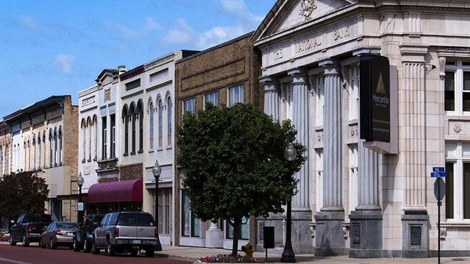 A three-week emergency order that begins Wednesday impacts businesses, schools and communities across Michigan -- including Ionia County. Downtown Ionia is pictured.