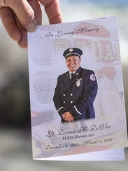 Scenes from the Harrisburg memorial service for Lt.