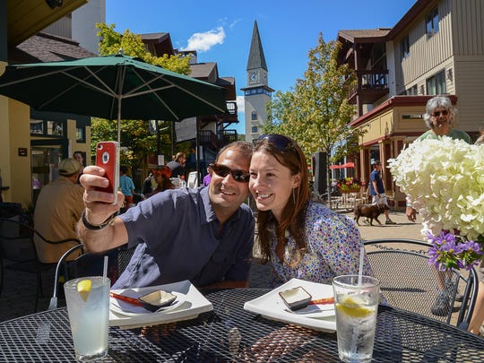 Off the course, there's plenty to do from hiking and biking on Stratton, to shopping, concerts and of course, dining right in the resort's village center.