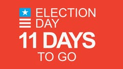 Election Day: 11 days to go