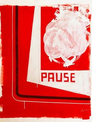 """""""Pause No. 2,"""" by Kenji Nakayama."""