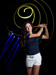 Andie Smith of The Pine School, all-area girls golf