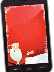 Santa's business depends on efficiency, so he stays