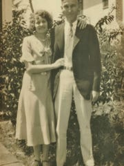 James and Mary Smith of Smith's Jewelers in Stuart about 1927.