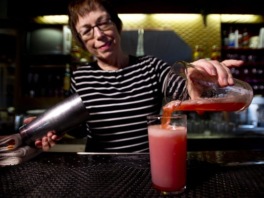 Martha Snyder has been mixing up cocktail classics