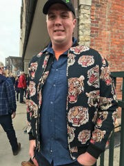 Ben Lightfood of Ferndale said his Tigers jacket is a must on Opening Day.