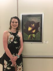 Allison Barnes' artwork was chosen to represent Ohio District 78 at the Ohio Statehouse.