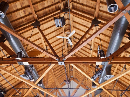 Ductwork comes out of hiding, adds design punch