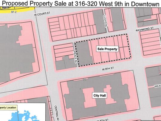 Property sale at 316-320 West 9th Street, Cincinnati