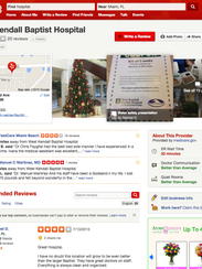 Screenshot of new Yelp feature, which offers more info