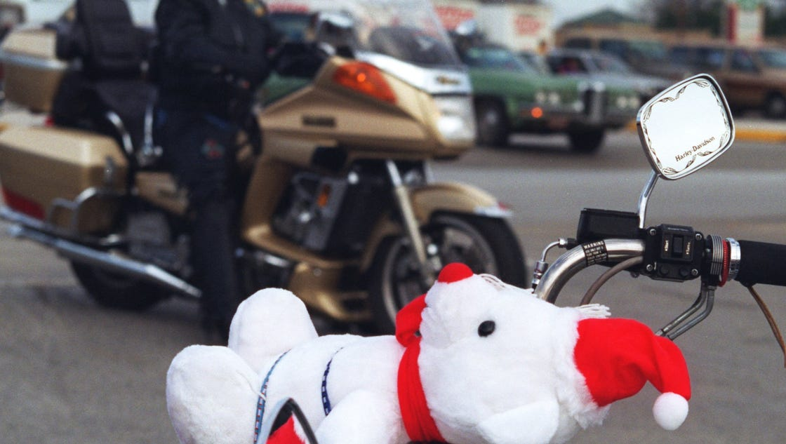 2 Toys For Tots : Toys for tots drive will continue but ride not