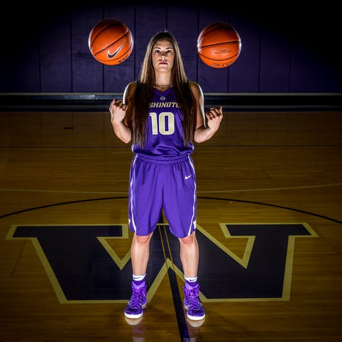 Most likely to succeed: Washington's Kelsey Plum nears NCAA scoring record