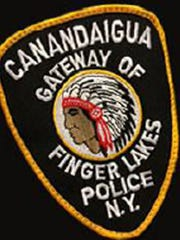 Canandaigua Police Department patch.