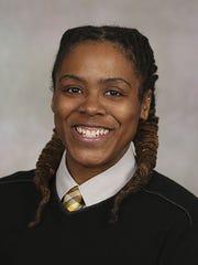 Dominiece Hoelyfield, coordinator of LGBT student services,