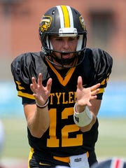 Tyler Junior College quarterback Brennen Wooten has led the Apaches to a 4-0 start in 2017. He's a former Central Bobcat standout.