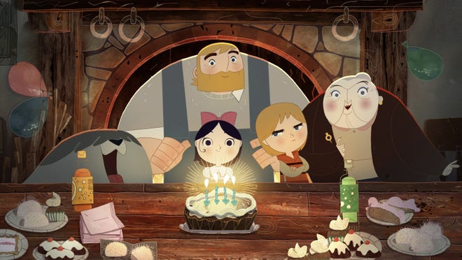 """""""Song of the Sea"""" is nominated for an Oscar for best animated feature. The hand-drawn film explores the Irish myth of the selkie."""