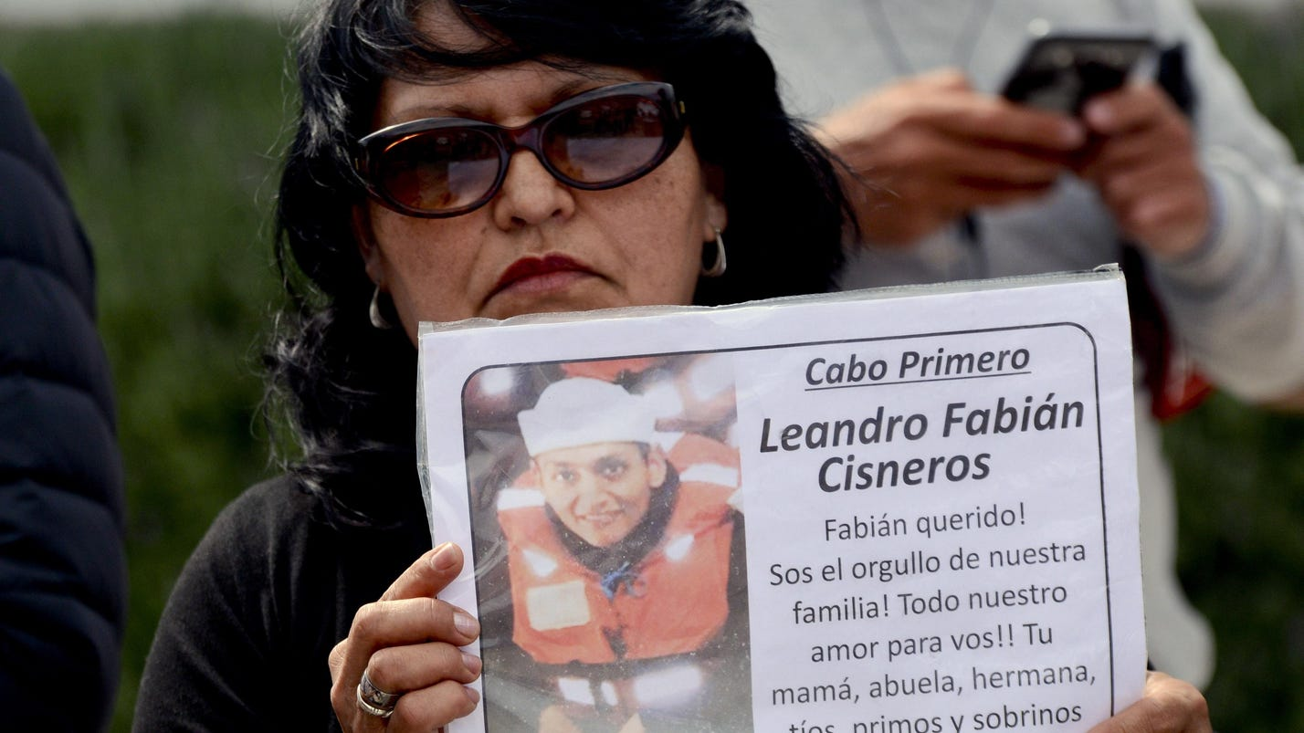 Argentina chasing new lead in missing submarine search