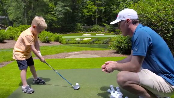 How Kevin Harvick ended up with a beautiful golf hole in his backyard - Kevin Harvick Has Beautiful, Backyard Golf Hole