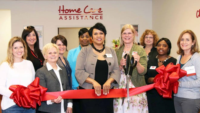 Home Care Assistance of Bloomfield celebrated the grand opening of its southeast Michigan retail office with a ribbon-cutting ceremony led by the Birmingham/Bloomfield Chamber of Commerce.