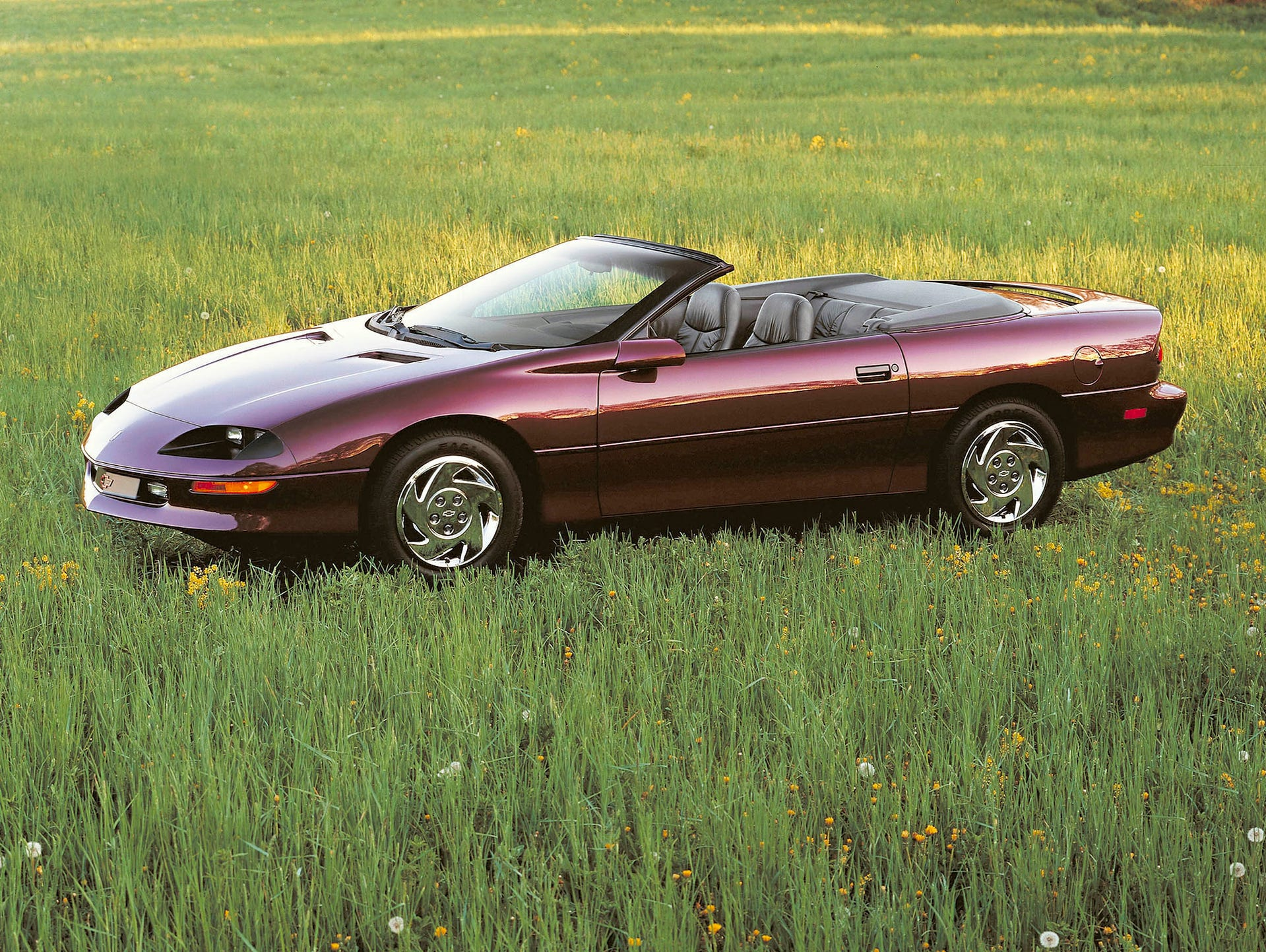 1995: The base V-6 engine made 200 horsepower for