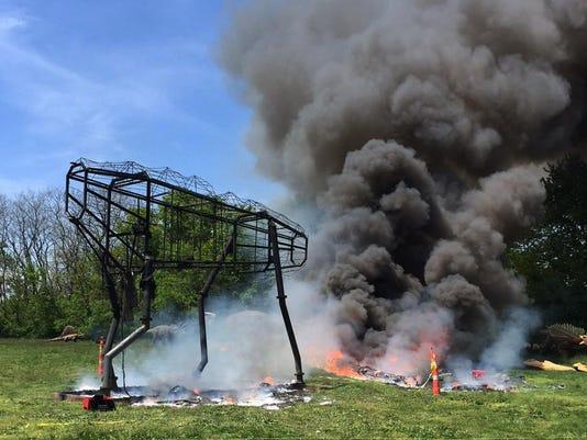 Dinosaur Park-Fire
