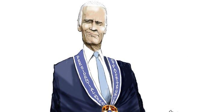 Cartoon for Jan. 13, 2017.