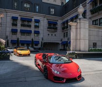 Lamborghini teams up with Waldorf Astoria hotels f...