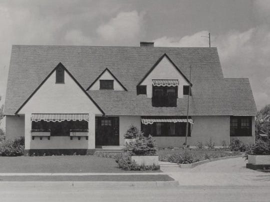 Frank P. Stover and his wife, Mary, built the Tudor Renaissance home at 1320 W. Oak St. in 1922.