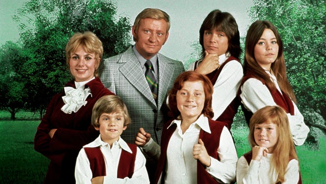 """Suzanne Crough, bottom right, was a child star on """"The Partridge Family."""""""