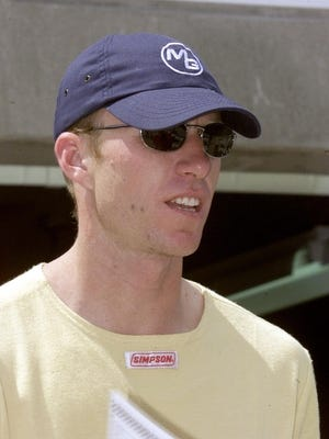 Memo Gidley, shown here in 2001, remembers nothing of his terrifying crash January at Daytona International Speedway.