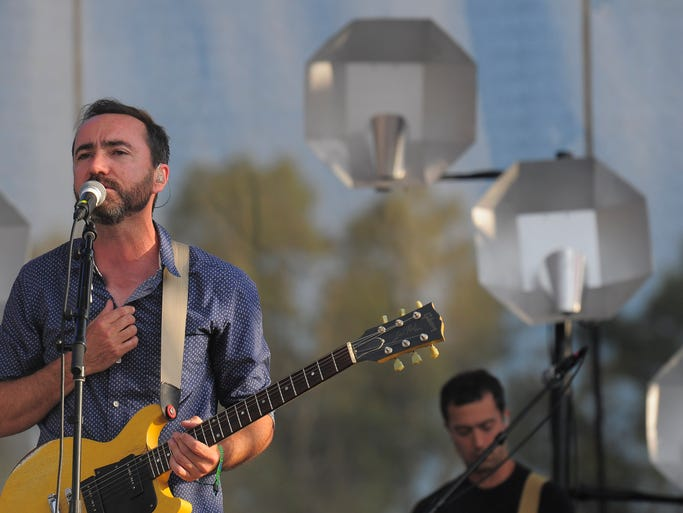 Broken Bells at the Bonnaroo Music & Arts Festival on Sunday, June 15, in Manchester, Tenn.