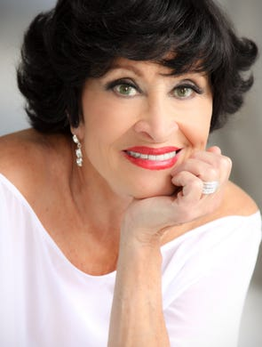 Legendary song-and-dance woman Chita Rivera today.
