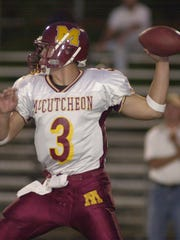 McCutcheon quarterback Clayton Richard won Indiana Mr. Football and received a scholarship from Michigan.