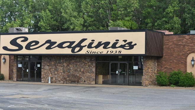 Serafini's Restaurant, 2642 W. 12th St. in Millcreek Township, plans to reopen when owners feel it's safe to do so.