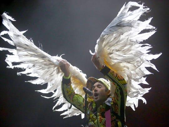 Sufjan Stevens performs at the Coachella Valley Music