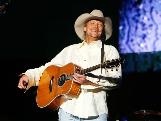 Alan Jackson will perform at 8 p.m. Sept. 30 at the