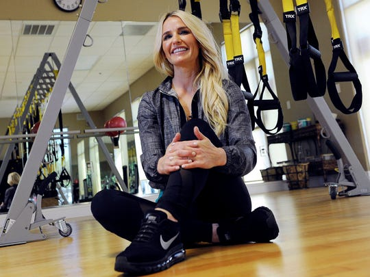 Dina Juve, owner of Fitness Social, is photographed Monday, April 3, 2017 in Fresno, Calif.