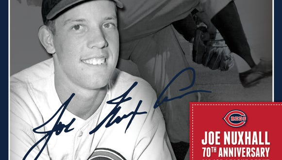 Joe Nuxhall 70th poster 6.1014