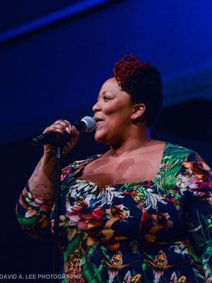 """Frenchie Davis wowed the crowd with her moving rendition of """"O Holy Night."""""""